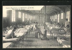 AK Resson-sur-Matz, Centre Hospitalier, une Salle de Blesses