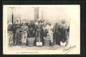 AK Denain, Groupe de Cafus