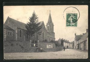 AK Necy, L`Eglise, Kirche