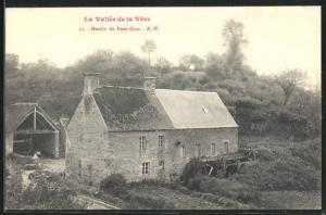 AK Pont-Grat, Moulin, Partie an der Mühle