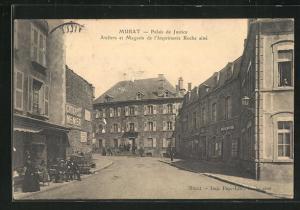 AK Murat, Palais de Justice, Ateliers et Magasin de l`Imprimerie Roche aine
