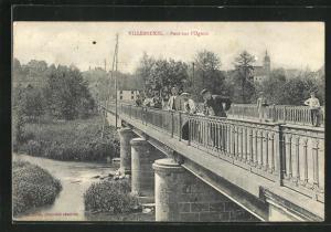 AK Villersexel, Pont sur l`Ognon