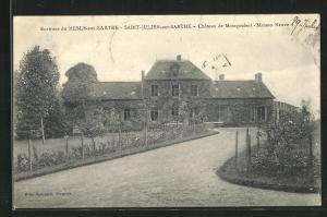 AK Saint-Julien-sur-Sarthe, Chateau de Montgoubert-Maison Neuve