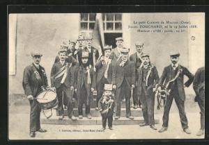 AK Mauves, Le petit Conscrit, Julien Touchard, Kleinwüchsiger