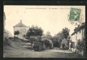 AK Drugeac, Entrèe du Bourg