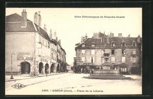 AK Arbois, Place de la Libertè