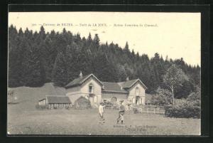 AK Salins, Foret de la Joute-Maison Forestière du Chevreuil