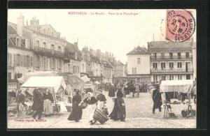 AK Montargis, Le Marchè-Place de la Republique