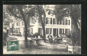 AK Mezin, Loupillon, demeure de M. Fallieres, President de la Republique, M. Fallieres et quelques amis
