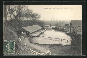 AK Marmande, Vieux Moulin de la Glaciere, Lavoir