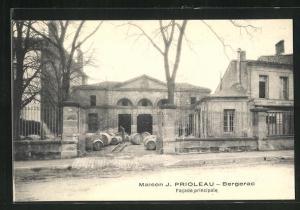 AK Bergerac, Maison J. Prioleau, Facade principale