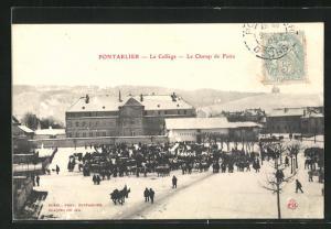 AK Pontarlier, Le College, Le Champ de Foire