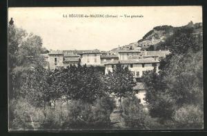 AK La Begude-de-Mazenc, Vue generale, Blick über Häuser und Landschaft