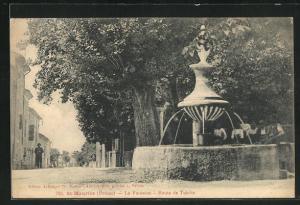 AK St-Maurice, La Fontaine, Route de Tulette