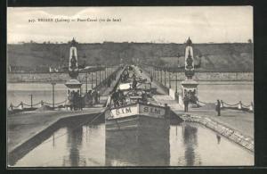 AK Briare, Pont-Canal, S. I. M., Lastenkahn