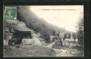 AK Marboue, Entree d`une Cave au Croc-Marbot