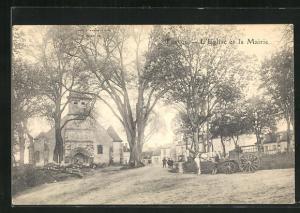 AK Trevol, L`Eglise et la Mairie