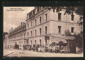 AK Bourbon-Lancy, Hotel Saint-Leger et Pergola