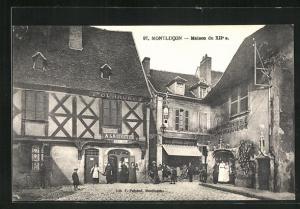 AK Montlucon, Maison du XIIe s., Fourrures