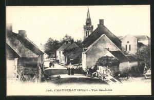 AK Chamberat, Vue Generale, L`Eglise