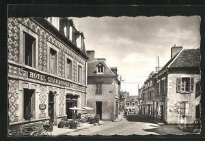 AK Evaux-les-Bains, Rue de l`Hotel de Ville