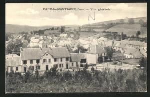 AK Faux-la-Montagne, Vue gènèrale