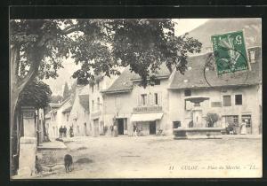 AK Culoz, Place du Marchè