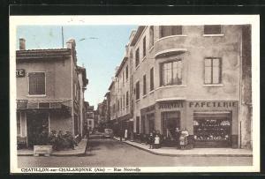 AK Chatillon-sur-Chalaronne, Rue Nouvelle