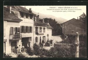 AK Thoiry, Hotel Lèger et le Jura
