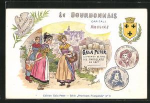 AK Moulins, Le Bourbonnais Capitale, Gala Peter