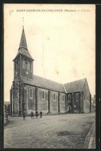 AK Saint-Germain-de-Coulamer, L`Eglise