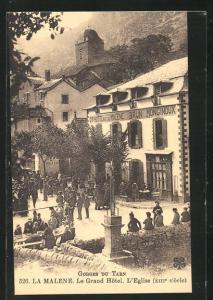 AK La Malene, Le Grand Hotel, L`Eglise