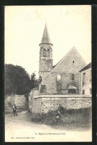 AK Montceaux, L`Eglise