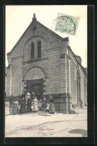 AK Rilly, Eglise (Facade)