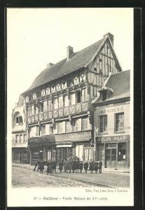 AK Gaillon, Vieille Maison du XV. siècle