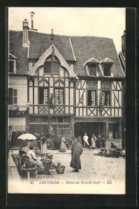 AK Louviers, Hotel du Grand-Cerf