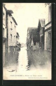 AK Pont-Audemer, Rivière rue Thiers