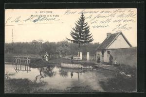 AK Conches, Moulin l`Abbè et la Vallèe