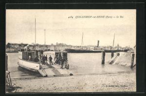 AK Quillebeuf-sur-Seine, Le Bac