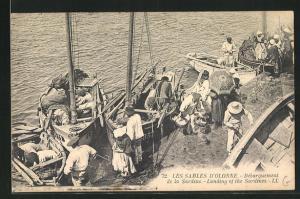 AK Les Sables d`Olonne, Dèbarquement de la Sardine