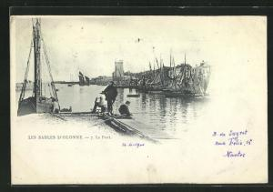 AK Les Sables d`Olonne, Le Port
