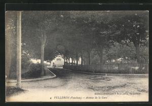 AK Velleron, Avenue de la Gare