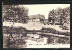 AK Mouchard, Chateau des Varaches et l`Etang
