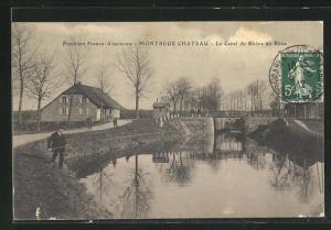 AK Montreux Chateau, Le Canal du Rhone au Rhin