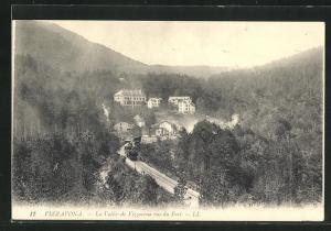 AK Vizzavona, La Vallèe vue de Fort