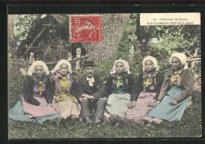 AK St-Colomban-des-Villards, Costumes de Savoie