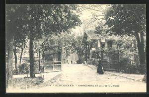 AK Vincennes, Restaurant de la Porte Jaune