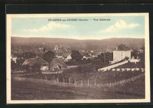 AK St-Genix-sur-Guiers, Vue Gènèrale