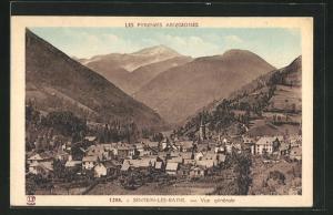 AK Sentein-les-Bains, Vue gènèrale
