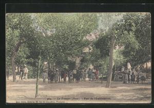 AK La Franqui, Parc de l`Ètablissement